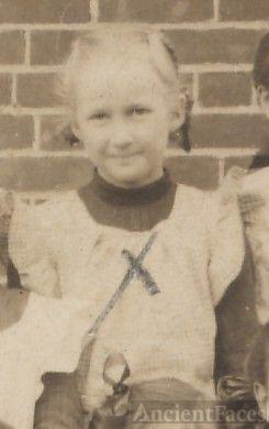 Jane McQuiston, school girl