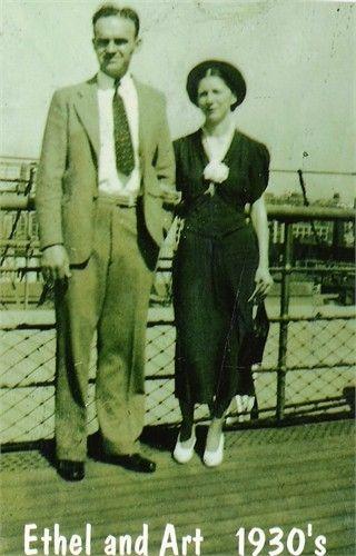 Ethel and Aurthur Martin