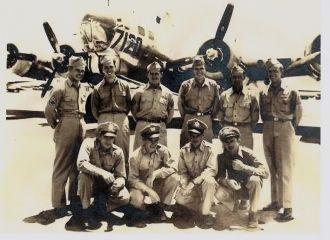 B-17 Bomber Crew, England 1944