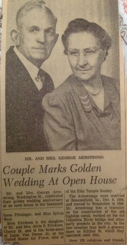George and Ida (Grubb) Armstrong