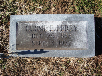 Gussie Perry Gravesite