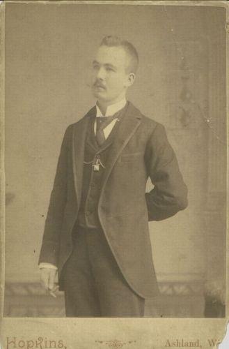 Joseph Murray, 1895 Wisconsin