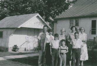 The Cline Family, 1950