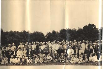 Stavanger Boarding School First Homecoming Picnic June 16, 1928 Imagine 3