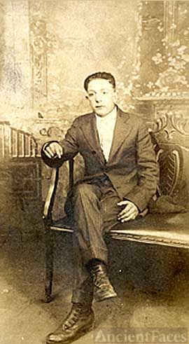 Elmer Herr, about age 16