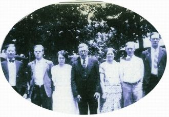 Family of James Levi & Mary Magaline Bishop