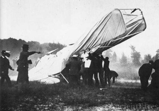 September 1908 Orville Wright Plane Crash