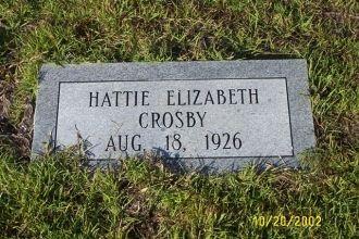 "Harriet ""Hattie"" Elizabeth"