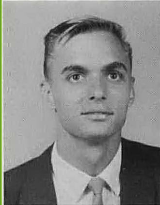 Billy Storms - 1966 Graduation Photo Howard Payne College