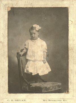 A photo of Nannie Carrison Warders
