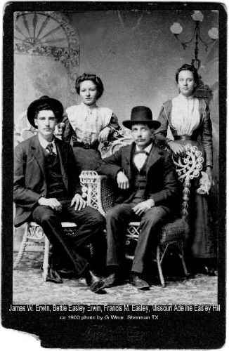 Great Grandfather's family