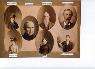 Calkins family collage
