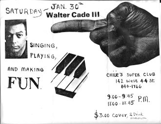 Walter Cade III poster