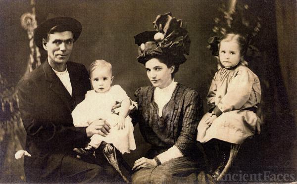 Walter, Francis and Ora Boyce