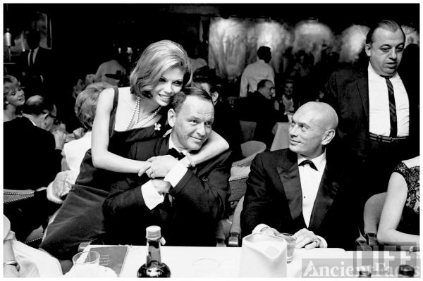 Yul Brynner and Frank Sinatra