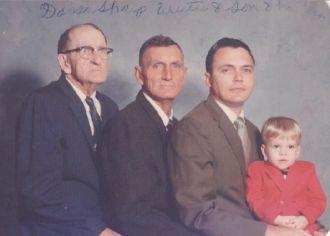 4 Generations of Sharp Men