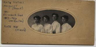 Metz Sisters, CA 1910