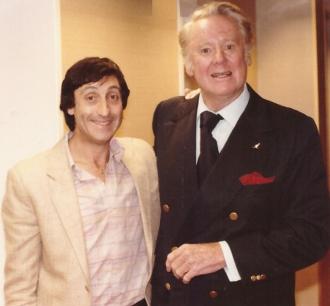 Geoff Lipton and Van Johnson in Melbourne Australia.