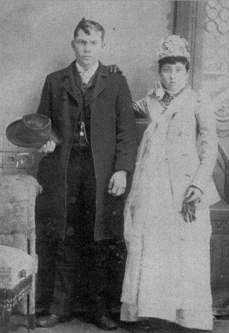 Marriage Louis J.B. LaFaive and Celima Germain