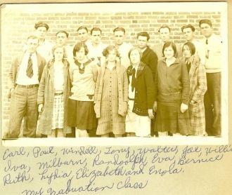 Cass County 1925 School Photo