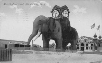Elephant Hotel, Atlantic City, NJ
