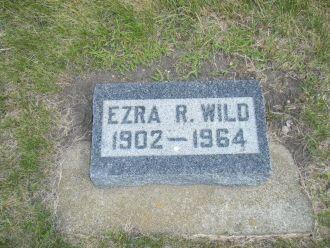 Ezra Robert  Wild gravesite