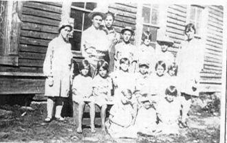 Fern School, Franklin county,Arkansas
