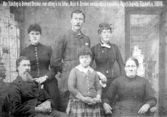 Major Brooker and family