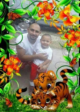 Jesse Benavides and Jesse Jr.