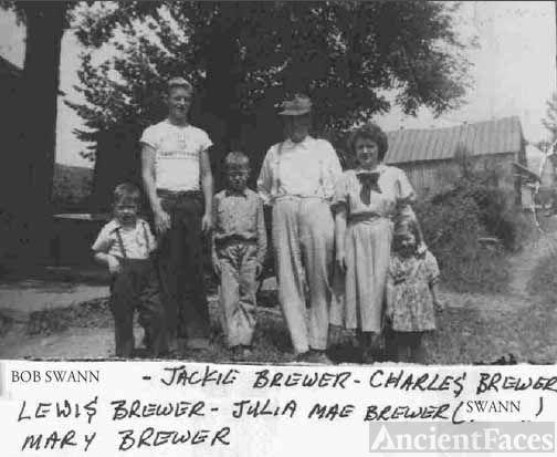 Brewer & Swann Families