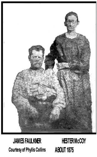 James & Hester (McCoy) Faulkner