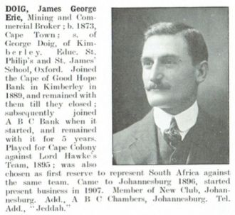James George Eric Doig