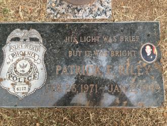 Patrick F. Riley Gravestone