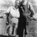 David S Pearson and wife Cora Belle McDougal Pearson