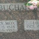Lula and Perry Mox Buchanan gravesite