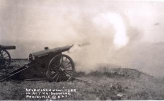 World War I Howitzer
