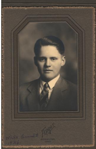 Milo Twedt, 1926