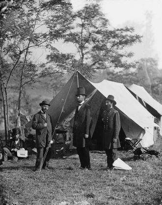 A photo of Allan Pinkerton