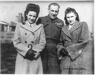 Alfreda Jozefa Zielska, England 1947