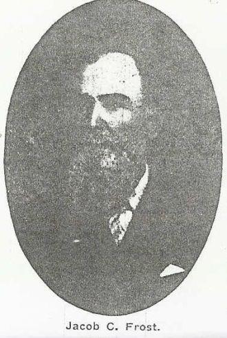 Jacob C. Frost (1841-1921), Civil War Veteran