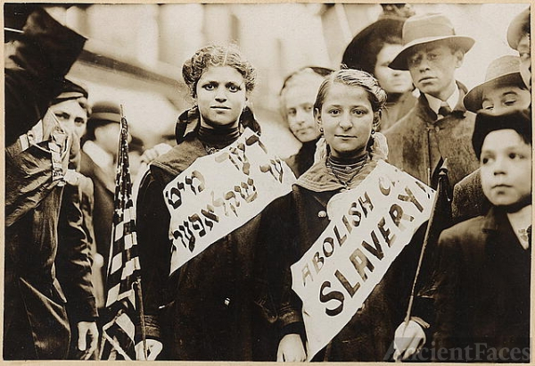 Protest against child labor