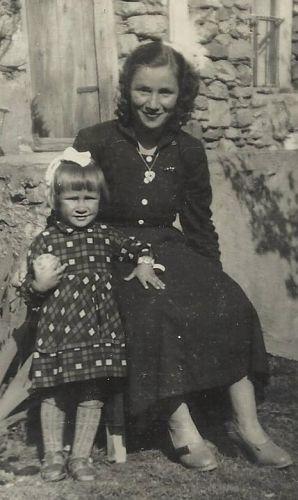 Najde Besimi and daughter Nezaet