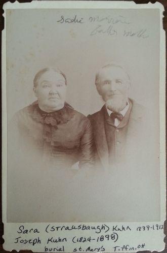 Joseph & Sara (Strausbaugh) Kuhn
