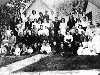 David Daulton Martin Family Reunion 1910