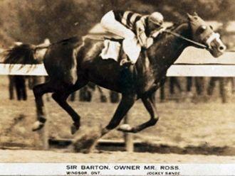 Sir Barton, Triple Crown Winner