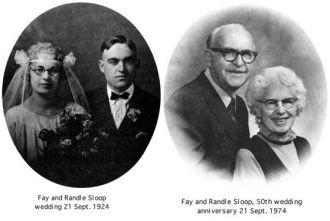 Fay & Randle Sloop, 1924, 1974