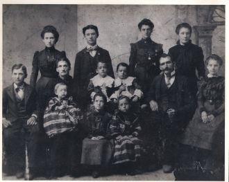 William & Emily (Eldridge) Harmon Family, 1898