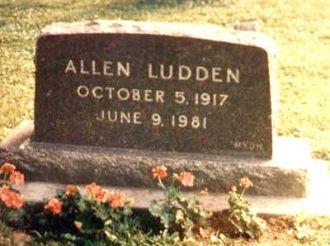 Allen Ellsworth Ludden gravesite