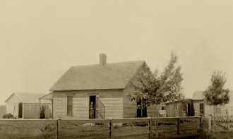 Grove Home Parker, Linn Co. Kansas