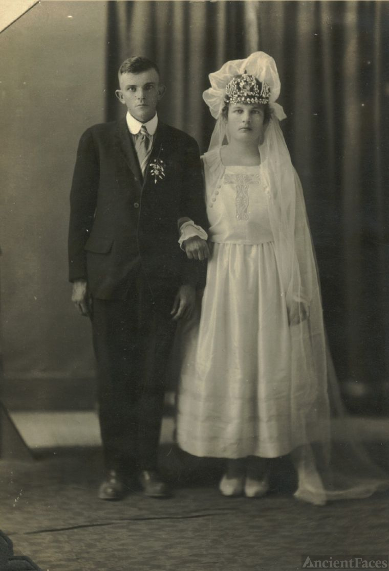 Wedding of Gertrude & Walter Syler